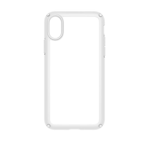 Speck 103134-6692  Products Presidio Show Case for iPhone X, Clear/Bright White