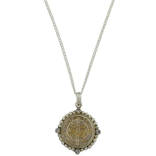 Santa Monica San Benito Choker Silver + Diamond Crystal - VSA - Virgins Saints Angels Jewelry