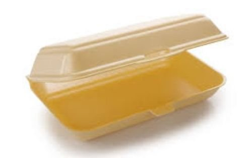 Not Applicable Polystyrene Tray Takeaway Food Box x 250 Burger Chips Foam Fish TT10 HP3