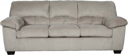Ashley Dailey Collection 9540138 89″ Sofa with Fabric Upholstery Plush Padded Arms Split Back Cushions and Contemporary Style in