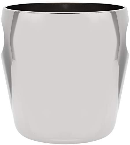Alessi 7-3/4-Inch Wine Cooler Bucket, Mirror-Polished Finish