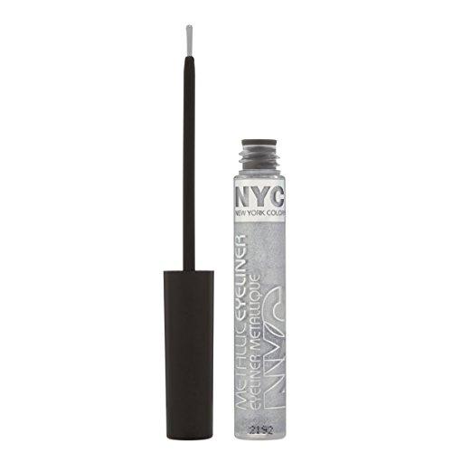NYC Metallic Liquid Eyeliner 7ml-Silver Light 865