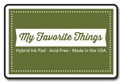 My Favorite Things Hybrid Ink Pad, 3-Inch x 2-Inch, Jellybean Green