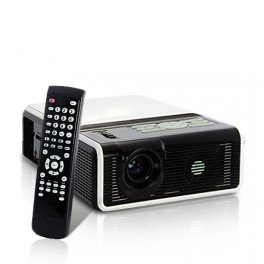 Proyector de vídeo, lector DVD (USB, HDMI, VGA, AV): Amazon.es ...