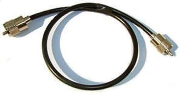 Sharman - Cable coaxial RG58 con conectores PL259 (0,5 m)