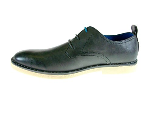 Oxford C Dress Gray Derby Round Toe 1404 Up Mens Lace Shoes 7n0BUndx
