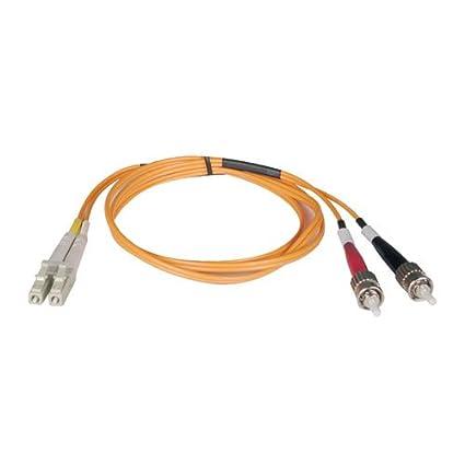 Tripp Lite Duplex Multimode 50/125 Fiber Patch Cable (LC/ST), 2M (6-ft.)(N518-02M) Network Cables