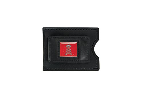 MLB Los Angeles Angels Leather Money Clip and Card Case