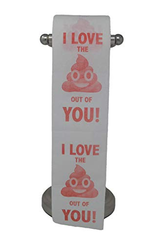I Love the 'Poop' out of You Toilet Paper, Funny Gift, Gag Gift, Novelty, Valentine's Day or Anniversary