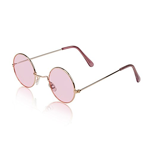 Price comparison product image Glasses For Kids Kid Retro Fake Best Childrens Sunnies UVA UVB Protected Pink
