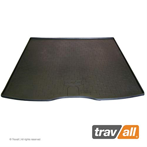 Travall Liner for VOLVO V50 Wagon (2004-2012) TBM1092 - All-Weather Black Rubber Trunk Mat Liner (Wagon Trunk Liner)