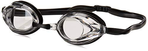 Speedo Vanquisher Optical Swim Goggle , Clear, Diopter - 4.5 (Speedo Goggle Nose Piece)