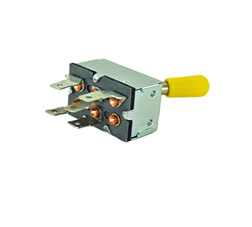 - John Deere Original Equipment Toggle/Rocker Switch #AM39489