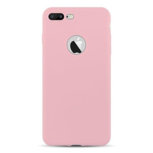 custodia iphone 7 rosa cipria