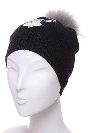 1c70c7f92e161 McBURN - Bonnet - Femme Noir Noir Taille Unique - Noir - Taille Unique
