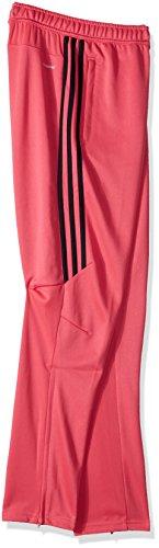 adidas Youth Soccer Tiro 17 Training Pants, Real Pink/Black, X-Small by adidas (Image #2)
