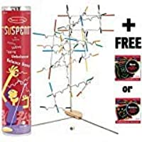 Melissa & Doug Suspend - Award Winning Family Game & 1 Scratch Art Mini-Pad Bundle (04371)