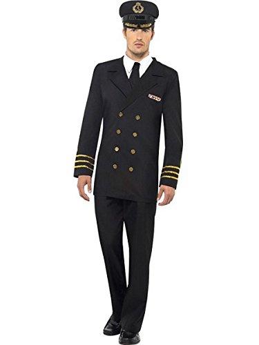 Smiffys Navy Officer Costume ()