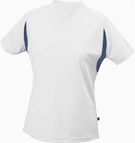 Ladies' Running-T | white/royal | XXL im digatex-package