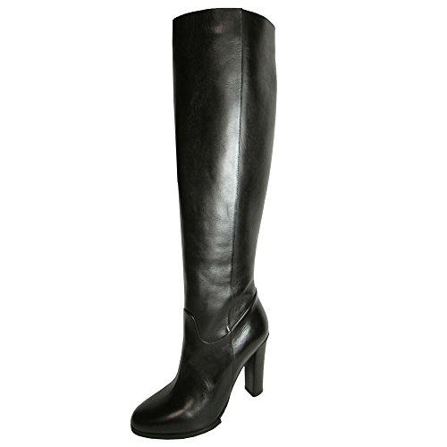 Donald J Pliner Signature Womens Tata-14 Knee High Boot Shoe Black Shine Calf KdTbVR