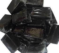 Black Licorice Caramels , (2.2 lb Bag) (Caramel Licorice)