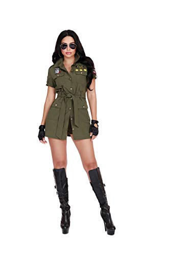 Dreamgirl Women's Fighter Pilot, Costume, Medium