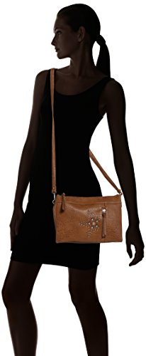 Marrón para Mujer 22 de Denim Bolso Tailor Hombro Geli Tom Cognac xSF761