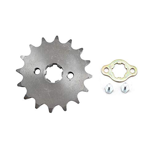 DSparts 16T Teeth 17mm 428 Chain Front Sprocket Cog Fit for 110cc 125cc 140cc Motorcycle ATV Dirt Pit Bike Thumpstar