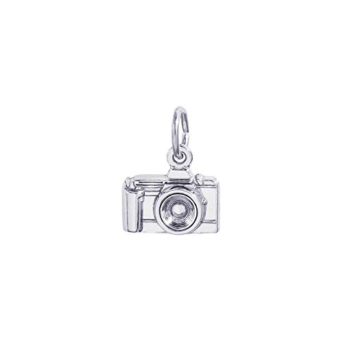 Rembrandt Sterling Silver Camera Charm - 3D by Rembrandt Charms