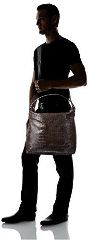 Cerutti Men's Leather Tote, Antracite by Cerutti (Image #4)