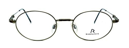 Eyeglasses Rodenstock R4132 B oval frames - Rodenstock Frames Eyeglass