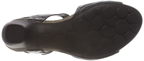 Think! Women's Traudi_989572 Ankle Strap Sandals, Black Black (Sz/Kombi 09 Sz/Kombi 09)