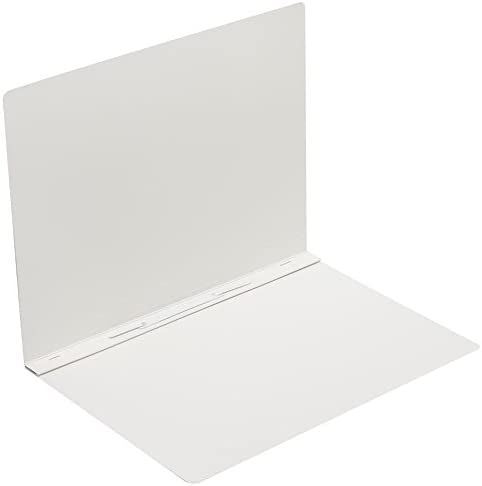 DIN Format Pack of 1 White Oxford by Elba Flat File Made from Solid Cardboard with Soft Touch Surface