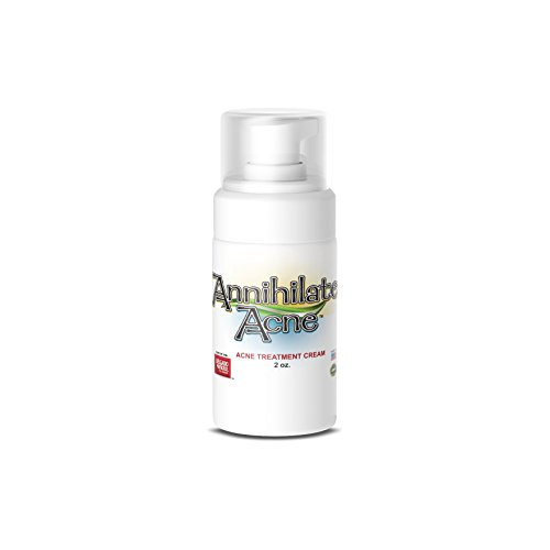 Annihilate Acne Cream - for Acne, Skin, PCOS, Hormonal Balance, Libido, Energy and Menopause with DIM, Progesterone, and Salicylic Acid.