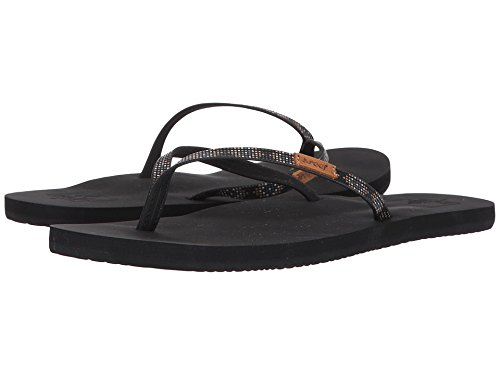 - Reef Women's Slim Ginger Beads Sandal, Black, 10 M US