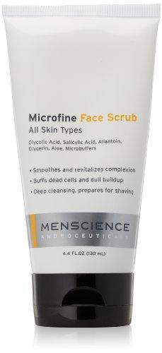 MenScience Androceuticals Microfine Face Scrub, 4.4 fl. oz.
