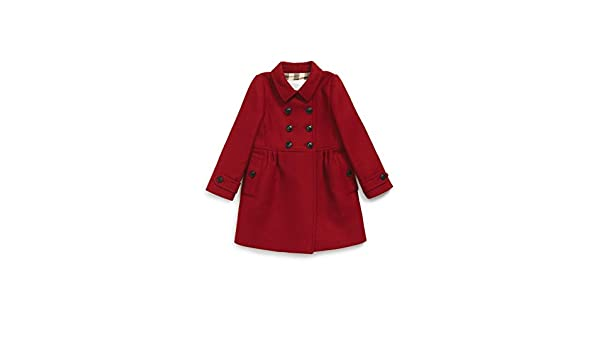 838dd4e91 Amazon.com  Toddler Girl s Burberry  Coraline  Double Breasted Wool ...