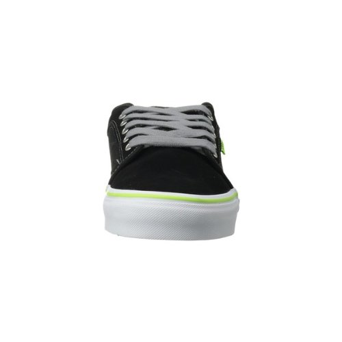 [バンズ]Vans メンズ CHUKKA LOW スニーカー BLACK/NEON LIME ブラック US14(32.0cm) [並行輸入品]