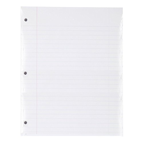 Mead Loose Leaf Paper, Filler Paper, Wide Ruled, 200 Sheets, 10-1/2'' x 8'', 3 Hole Punched, 1 Pack (15200) by Mead (Image #1)