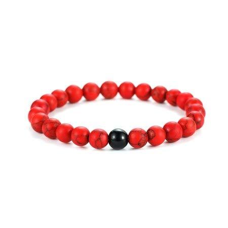 Zozu ZORAN Coral Luxury Brand Natural Stone red Beads Bracelets For Women Men Jewelry Couple Bracelet Fashion Pulseira Feminina 2018 (type5)