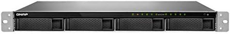 QNAP TS-977XU Ethernet Bastidor (1U) Negro NAS - Unidad Raid (Unidad de Disco Duro, SSD, Serial ATA III, 2.5,3.5