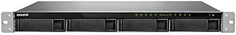 QNAP TS-977XU-RP Ethernet Bastidor (1U) Negro NAS - Unidad Raid (Unidad de Disco Duro, SSD, Serial ATA III, 2.5,3.5