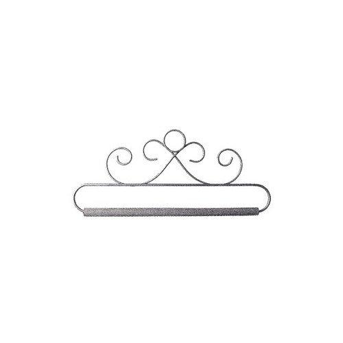 Ackfeld 88387 French Curls Gray Fabric Holder, 6-1/2 6-1/2 Ackfeld Manufacturing