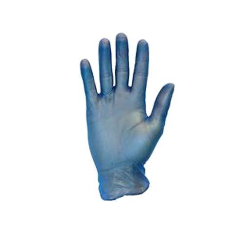 Safety Zone GVP9-LG-1C-BL Premium Glove, Powder Free, L, Blue  (Pack of 1000)