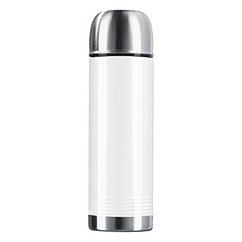 Emsa Senator Colour Coll. 0.7 L White, Coffee, Tea Jug, Vacuum Flask, 515224