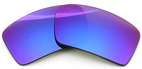 9874a23ed4e Polarized Ikon Iridium Replacement Lenses For Oakley Eyepatch 2 Sunglasses  - Violet Mirror