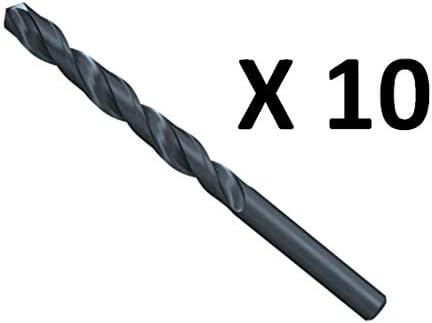 10pcs Fischer 543078 Metal Drill Bit Hss-R Din338 1.5X18//40