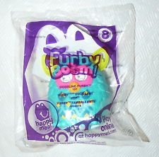 Furby Boom #8 Wobbling Furby 2013 Mcdonalds Happy Meal Doll Toy
