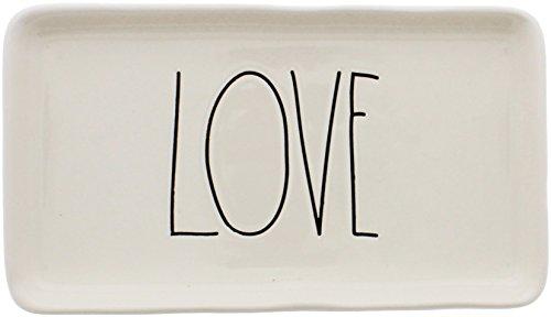 Rae Dunn by Magenta Ceramic LOVE Tray by Rae Dunn