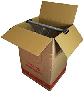 Simba Paper Design 10 Cajas Perchero para Mudanza con Perchero. 50 x 60 h 111: Amazon.es: Hogar